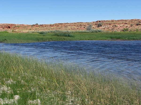 Pasture Canyon Reservoir - Tuba City